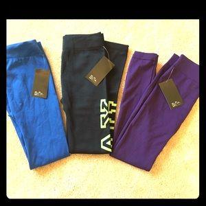 Pants - Fleece Lined Leggings 💙💜 THREE PAIRS!